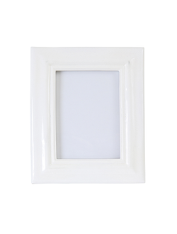 Фоторамка 18X23.5CM PHOTO FRAME PURE WHITE  POLYRESIN 29964