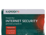 ПО Kaspersky Internet Security Multi-Device Russian Ed 3 devices 1 year Renewal Card (KL1941ROCFR)