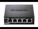 DES-1005D Сетевой неуправляемый коммутатор D-Link с 5 портами 10/100Base-TX купить в Киеве, цена