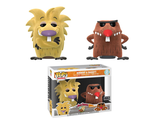 Фигурки Funko POP! Vinyl: Nickelodeon: Angry Beavers: Norbert & Daggett Flocked (Эксклюзив)