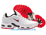 Nike Air Max Plus TN Men White/Solar Red