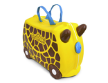 Детский чемодан каталка чемодан Trunki Жираф Джери