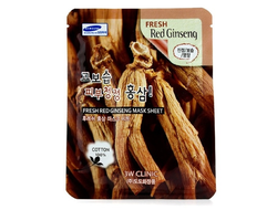 Тканевая маска с красным женьшенем Fresh Mask Sheet Red Ginseng