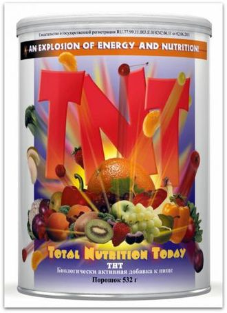 TNT - Total Nutrition Today/ ТНТ.