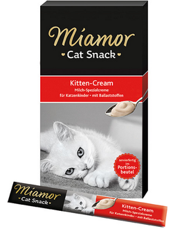 Miamor Kitten Cream / Миамор Киттен крем в пакетиках 6 шт х 15 гр