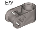 ! Б/У - Technic, Axle and Pin Connector Perpendicular, Pearl Light Gray (6536 / 4177420) - Б/У