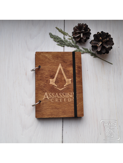 Блокнот на кольцах Assassin's Creed, А6