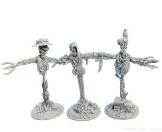 Evil scarecrows  (unpainted)
