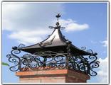 Кованые колпаки дымоходов Брянск цена фото