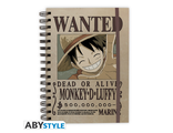Ежедневник ABYstyle: ONE PIECE: Wanted Luffy