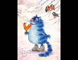 D0452 Кот и петух