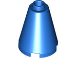 Cone 2 x 2 x 2 - Completely Open Stud, Blue (3942c / 4214611 / 4295311 / 6022149 / 6092663)