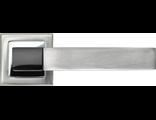 Дверные ручки RUCETTI RAP 16-S SN/CP Цвет Белый никель/хром
