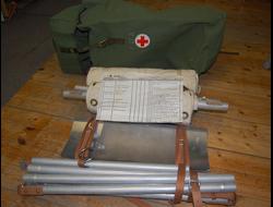 Носилки транспортировочные разборные, армия Швеции, новые, оригинал, в сумке