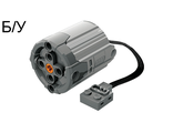 ! Б/У - Electric, Motor 9V Power Functions XL with Dark Bluish Gray Bottom, Light Bluish Gray (58121c01 / 4506081 / 6073386) - Б/У