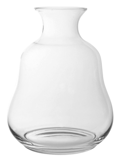 Ваза стекло VASE POIRE CLEAR D26X33CM GLASSарт.32176