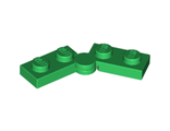Hinge Plate 1 x 4 Swivel Top / Base Complete Assembly, Green (2429c01 / 4100353 / 4187931 / 6102767)