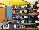 Горные лыжи детские бу и новые оптом.