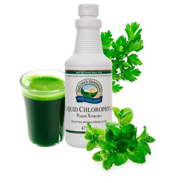 Жидкий Хлорофилл - зелёная кровь растений