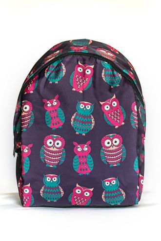 Молодежный рюкзак с совами для девочек SLA00107