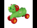 Детская каталка Слоненок зеленый