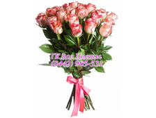 Букет На Грани Нежности (23 розы)