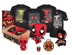 "MARVEL Collector Corps ""DEADPOOL""  - МАРВЕЛ Коллекционный набор Колллектор корпс ""ДЭДПУЛ"""