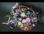 Цветочная корзина Гранд