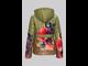 Куртка для девочек C1685 , Jan Steen ( цвет хаки с капюшоном)