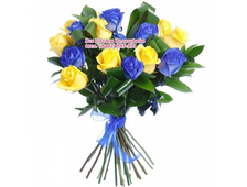 Букет Топаз-Алмаз 15 роз