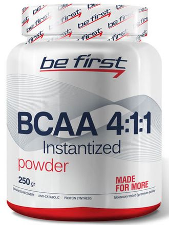BE FIRST BCAA Powder 4:1:1 250 г