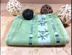 Бамбуковое полотенце спорт класс 48х98 Bamboo зеленый
