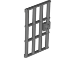Door 1 x 4 x 6 Barred with Stud Handle, Pearl Dark Gray (60621 / 6037634)