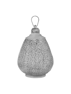 Фонарь LANTERN ORIENT GREY D30XH44CM IRON+GLASSарт.31802