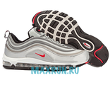 Nike Air Max 97 Premium Tape QS Metallic Silver/Varsity Red/White/Black (41-45)