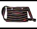 Молодежная сумка Zipit Monster Shoulder Bag черный мульти