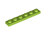 Plate 1 x 6, Lime (3666 / 4164029 / 4529160 / 4534665)