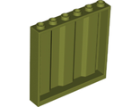 Panel 1 x 6 x 5 Corrugated, Olive Green (23405 / 6136741)