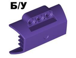 ! Б/У - Technic, Panel Engine Block Half / Side Intake, Dark Purple (61069 / 4518845 / 4569911) - Б/У
