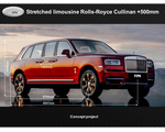 Various luxury elongated and armored SUVs, based on Rolls-Royce Cullinan in VR6 & VR7, 2018-2019 YP
