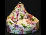 Кресло-груша ОЛИВИЯ, жаккард принт