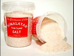 Гималайская розовая соль, 290 гр КРУПНЫЙ И МЕЛКИЙ ПОМОЛ