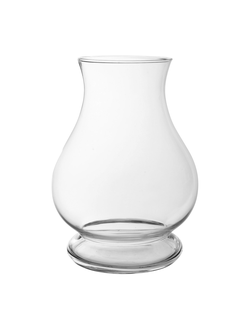 Ваза стекло VASE OBUS CLEAR D25X35CM GLASSарт.32179