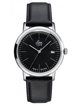 Часы мужские LACO VINTAGE 38 MM AUTOMATIC BLACK 861838