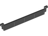 Garage Roller Door Section without Handle, Black (4218 / 4582536)
