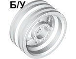 ! Б/У - Wheel 30mm D. x 14mm (for Tire 43.2 x 14), White (56904 / 4539270) - Б/У