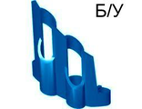! Б/У - Technic, Panel Fairing # 1 Large Short, Large Holes, Side A, Blue (32190) - Б/У