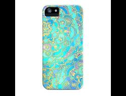 Чехол CityCase Aquamarine для iPhone 5, 5S
