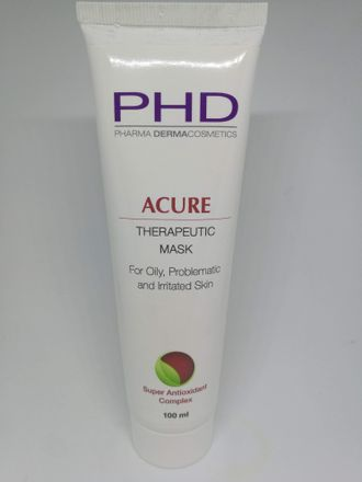 PHD Accure therapeutic Mask успокаивающая маска