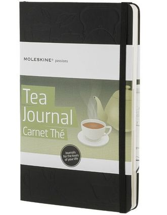 Moleskine Passions Tea Journal (Книга чая), Large, черный
